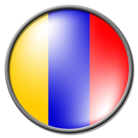 columbian: Columbian Badge Meaning Waving Flag And National Stock Photo
