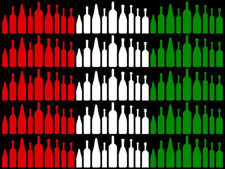 brasserie: Flag Drink Representing Wine Tasting And Brasserie Stock Photo