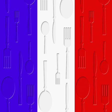 French Food Meaning Foods Eating And Restaurant Stock Photo