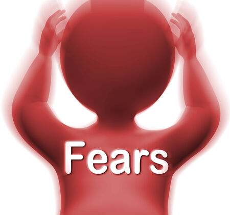 concerns: Fears Man Meaning Worries Anxieties And Concerns