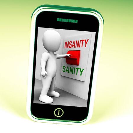 insanity: Interruptor Insanity Sanity Mostrando Sane O Psicolog�a Insane