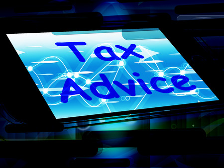 taxpayer: Tax Advice On Phone Showing Tax Help Online