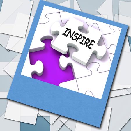 Inspire Photo Showing Originality Innovation And Creativity On Web Stock Photo