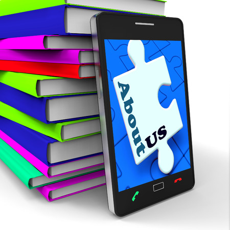About Us Smartphone Meaning What We Do Website Section photo