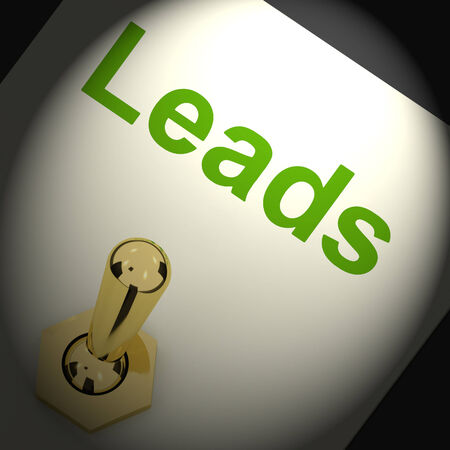 Leads Switch Means Lead Generation Or Sales
