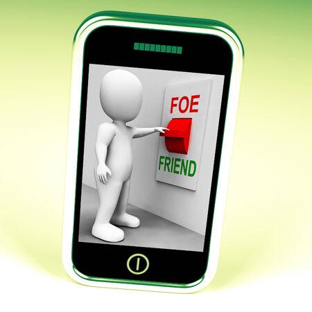 enemy: Friend Foe Switch Showing Ally Or Enemy