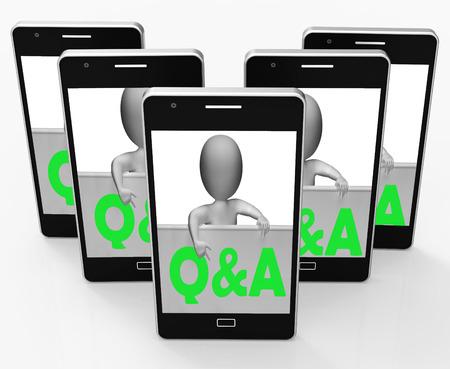 control de calidad: Q & A Blackboard Mostrando Consultas respuestas y la información