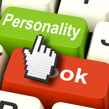 superficial: Personality Looks Keys Showing Character Or Superficial Online Stock Photo