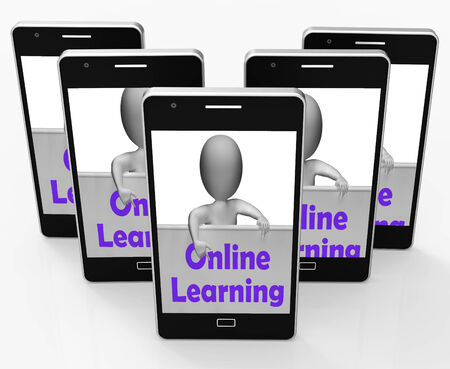 extramural: Online Learning Sign Phone Meaning E-Learning And Internet Courses