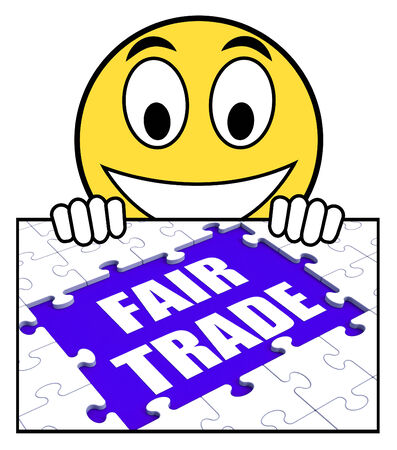 fairtrade: Fair Trade Sign Meaning Shop Or Buy Fairtrade Products