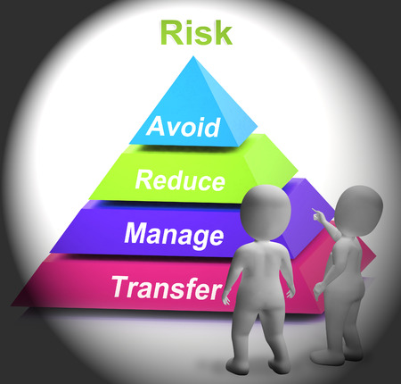 risky situation: Risk Symbol Showing Risky Or Uncertain Situation
