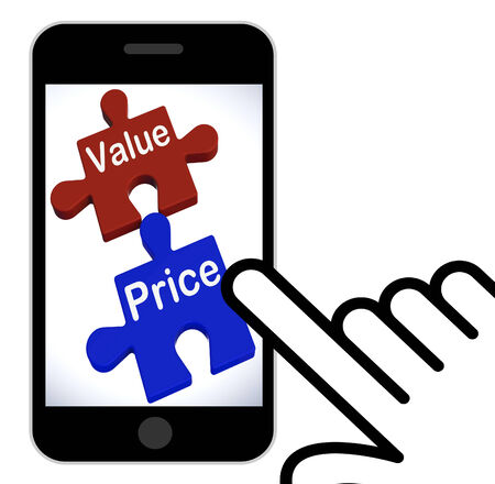 Value Price Puzzle Displaying Worth And Cost Of Product photo