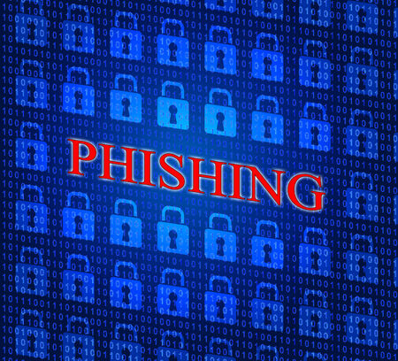 Phishing Hacked Representing Hacking Theft And Security photo