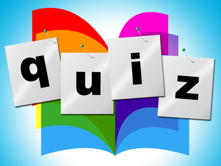 Questions Quiz Representing Information Asked And Puzzle photo