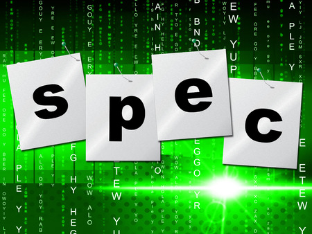 stipulation: Spec Designs Meaning Model Creativity And Details