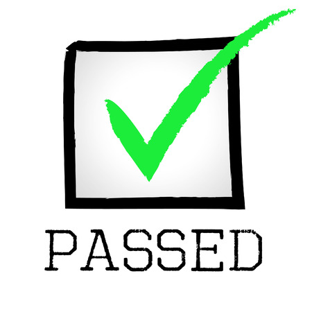 endorsed: Passed Tick Showing Endorsed Assurance And Ok