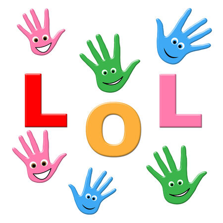 laughing out loud: Los ni�os se r�en Significado Laughing Out Loud And Children