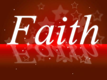 fidelidad: Confianza Fe Significado cree adentro y Entrust