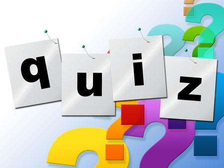 Quiz Questions Representing Faq Test And Ask photo