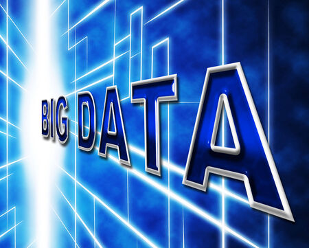 byte: Big Data Showing Information Byte And Knowledge