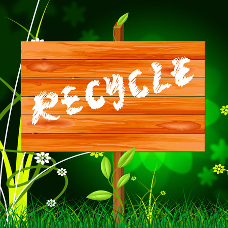 reciclable: Reciclar reciclable Mostrando Go Green Y Ambiental