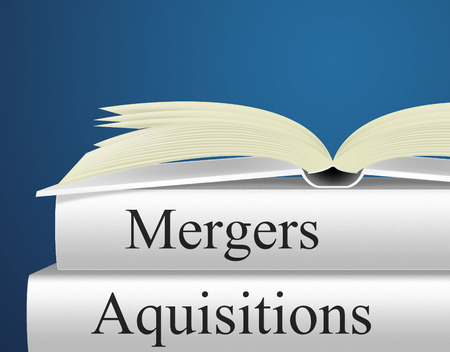 Mergers Aquisitions Indicating Take Over And Buy