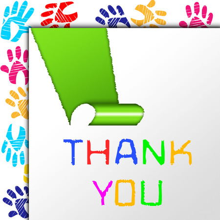 agradecimiento: Gracias Significado Muchas Gracias y agradecido Foto de archivo
