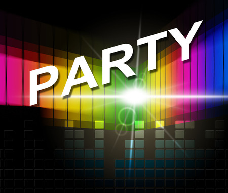 soundtrack: Music Party Meaning Sound Track And Celebrations