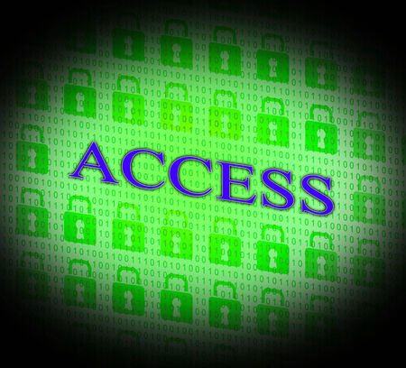 accessible: Security Access Indicating Accessible Permission And Encryption