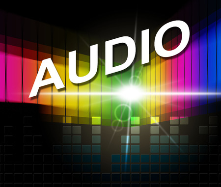 soundtrack: Audio Music Showing Sound Track And Melody