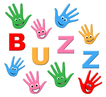 popularity: Buzz Kids Indicating Public Relations And Popularity