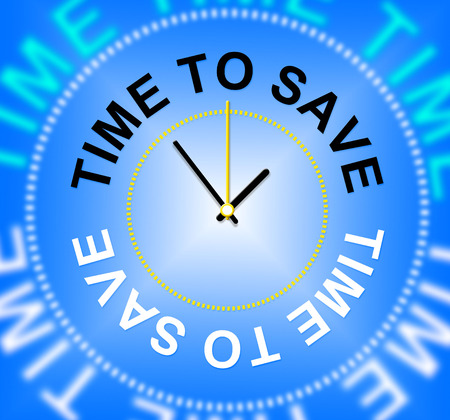 saved: Time To Save Showing Capital Saved And Investment