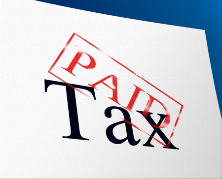 levy: Taxes Paid Meaning Paying Settlement And Payment