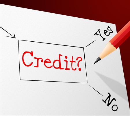 debit card: Credit Choice Indicating Debit Card And Choose Stock Photo