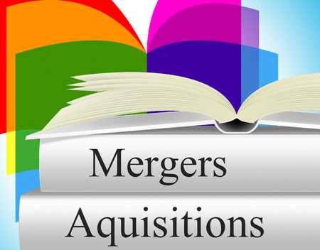 mergers: Aquisitions Mergers Showing Link Up And Consolidation