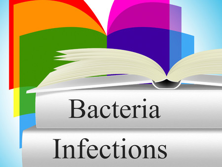 bacillus: Infection Bacteria Indicating Health Care And Bacillus