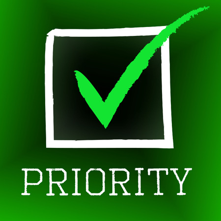 precedence: Tick Priority Meaning Important Checkmark And Urgent