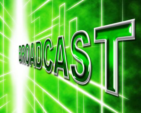 transmit: Transmit Broadcast Indicating World Wide Web And Website