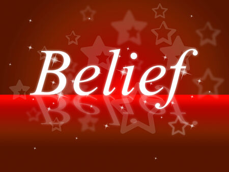 belive: Word Belief Showing Belive In Yourself And Hope Faithful