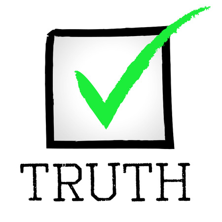 verifiable: Truth Tick Representing Truly Verifiable And True