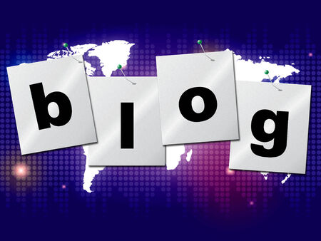 globally: Blog World Meaning Globally Blogging And Online