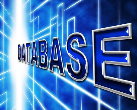 dataflow: Bases de datos datos que muestran la alta tecnolog�a y Datos