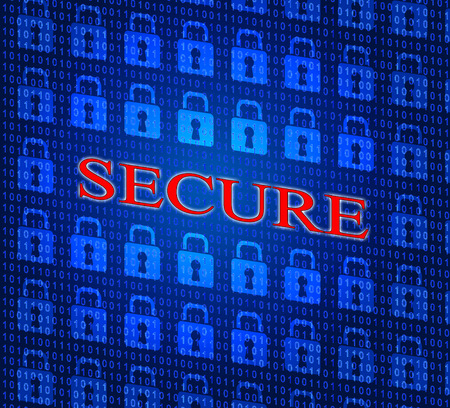unauthorized: Secure Security Representing Unauthorized Password And Private Stock Photo