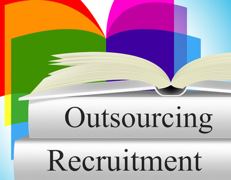 independent contractor: Recruitment Outsource Showing Sourcing Contract And Contracting