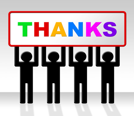many thanks: Thank You Showing Many Thanks And Gratitude