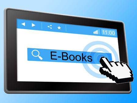 e books: E Books Representing World Wide Web And Website