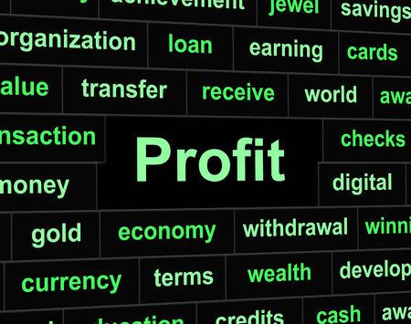 empleadas: Ingresos Beneficio indica �xito y los ingresos Empleado
