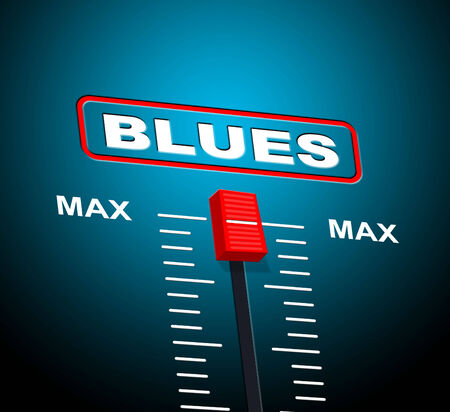 soundtrack: Blues Music Meaning Sound Track And Soundtrack Stock Photo
