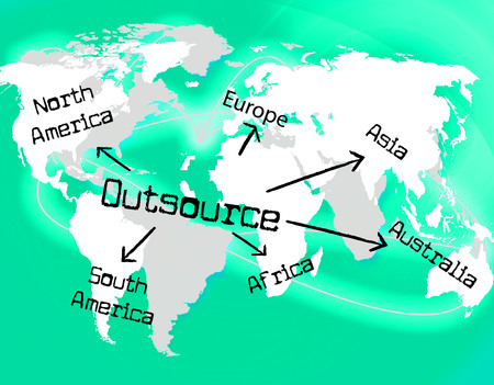 sourcing: Worldwide Outsource Indicating Globalize Supplier And Sourcing