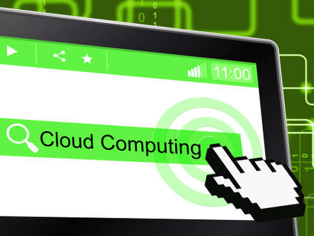 information technology: Cloud Computing Meaning Information Technology And Computer